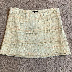 Theory Tweed mini skirt, size 4